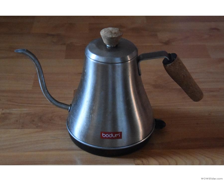 ... my Bodum gooseneck kettle...