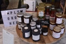 ... where you'll find some produce for sale, including Maya's homemade jam!