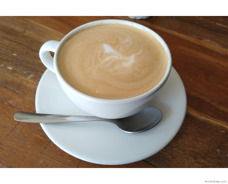 And, of course, there were flat whites.