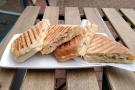 ... while this tuna melt panini was from July...