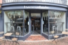 Back to Marmalade, and this is the view head on. There are three outside tables, one for...