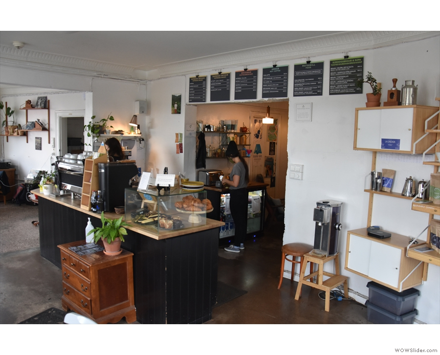 In July, I managed to get to Iceland, where I visited Reykjavik Roasters for the first time.