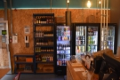 The craft beer selection, seen from the other side of Bank Street Social.