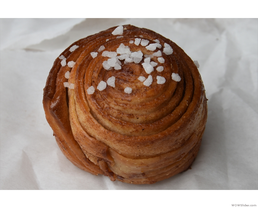 I'll leave you with the highlight of my first visit, this wonderful cinnamon bun.