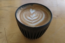 Taking my visits in reverse order, I had a flat white in my HuskeeCup on my most recent...