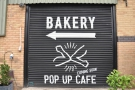 Don't worry about the 'coming soon', the pop up cafe is here!
