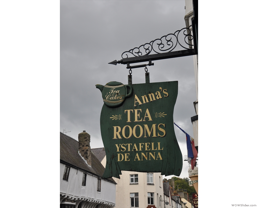 If you're trying to find Anna's keep an eye out for the sign.