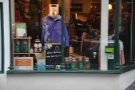 Although the display in the window's also a giveaway