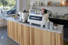 A view of the counter from the back of Another Brother...