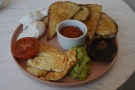 ... although I'll leave you with my brunch, the rather wonderful veggie Big Breakfast.