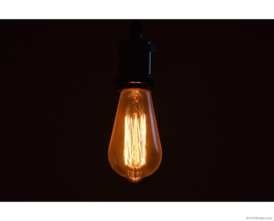 Obligatory light bulb shot.
