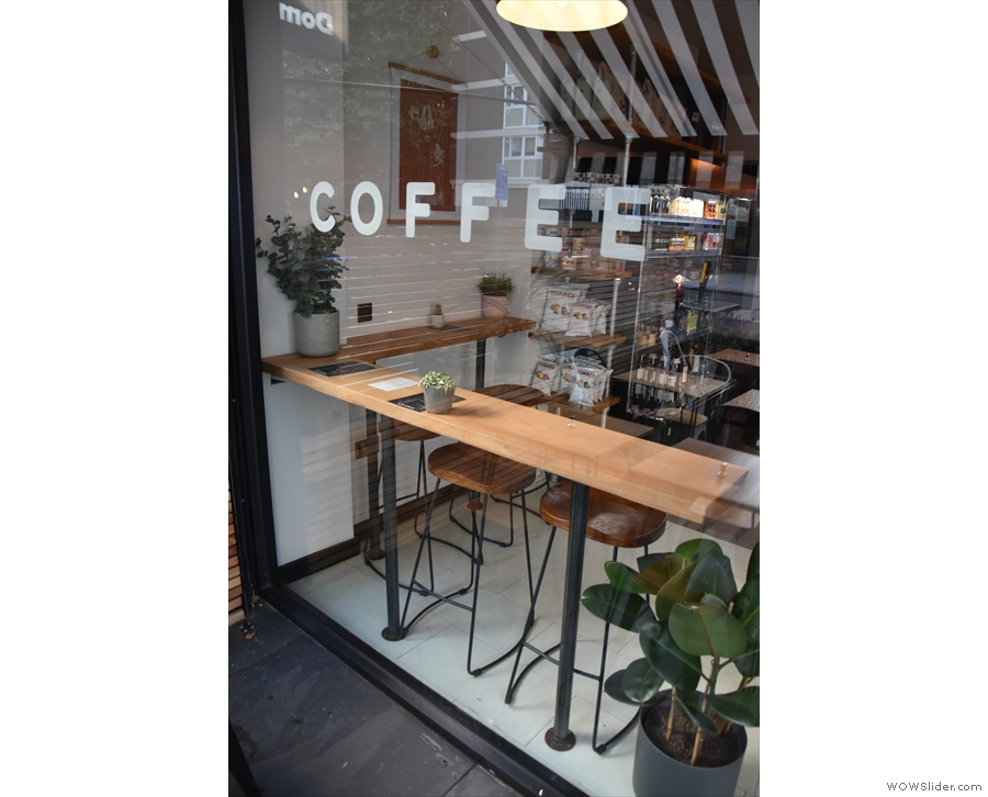 ... while the window on the left says 'COFFEE' and has a window-bar.