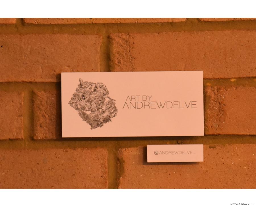 ... local artist, Andrew Delve.