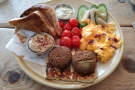 I was tempted by the usual suspects, but went instead for the Full Lebanese Breakfast.