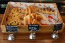 ... and pastries, which are the main reason to come up here...