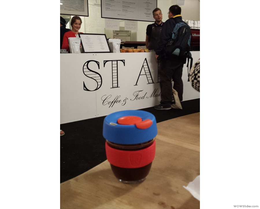 And finally, KeepCup #2 heads down under to say hi to St Ali.