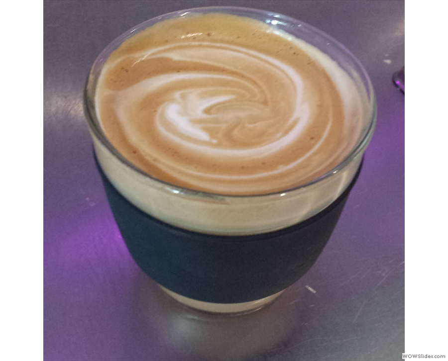 The staff at my works canteen were so impressed with JOCO Cup that they did some rare latte art!