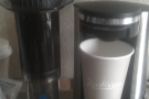 However, I didn't lack good coffee since I brought the trusty Aeropress with me...