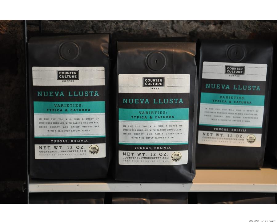 ... or the Neuva Llusta on the bulk-brew filter.