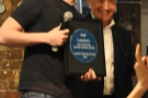And now for the big one... Daniel of Cups of London Coffee collects 'Best London Coffee Blog'