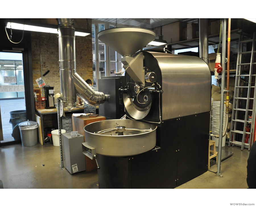 That's a bit of a giveaway... It's Caravan's 25 kg roaster!