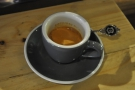 ... but Estelle tempted me with her UKBC blend as an espresso. Very fine it was too!