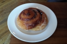 I also had this lovely looking Pain au Raisin.