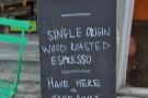 Coffee credentials.