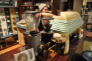I, on the other hand, put Trenton, the barista, to work on the Elektra...