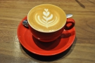 I followed this up with a (small) flat white, which was even better than the large one.