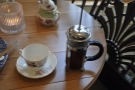I went, of course, for a cafetiere of coffee.