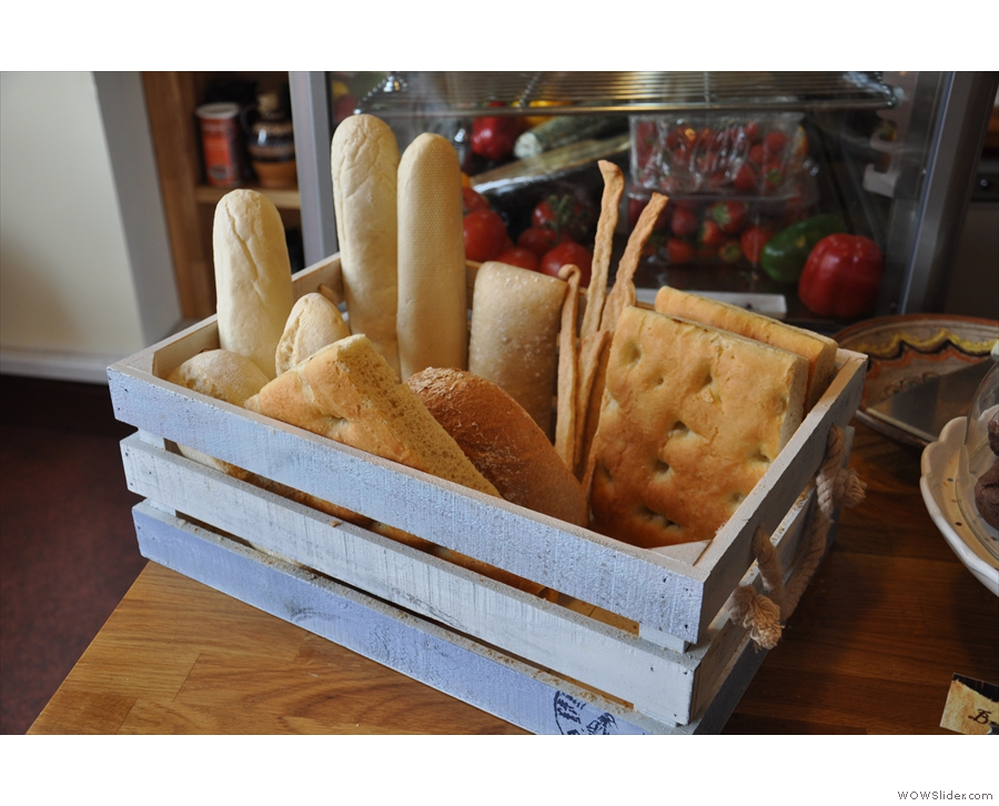 ... or how about some bread?