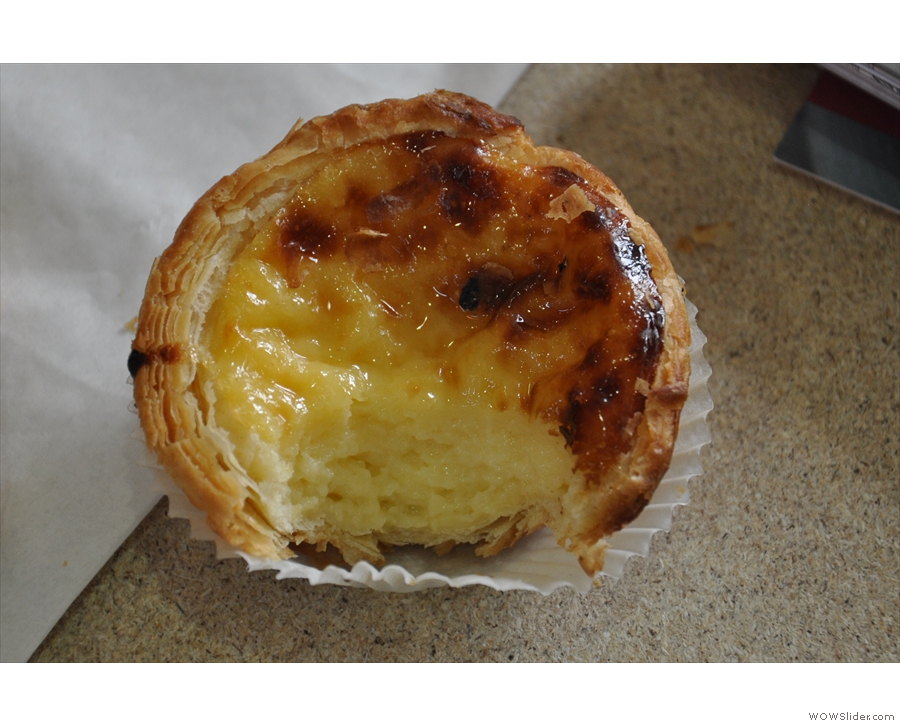 No trip to Caffe Culture is complete without a nata from Galeta :-)