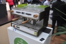 ... and the Verde, a green (and not just in colour) espresso machine.