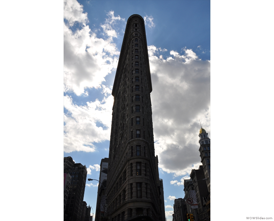 My favourite view of the Flatiron Building.