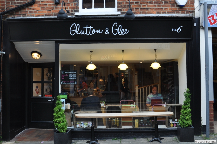 Glutton & Glee on Tunsgate, Guildford.