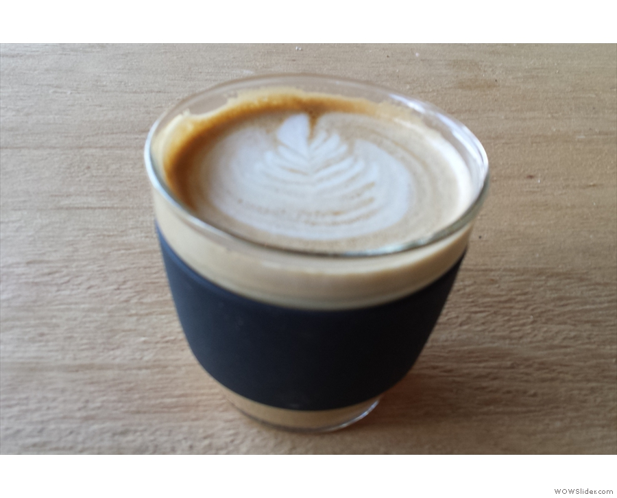 Coffee is only served in takeaway cups, so bring your own if you can.