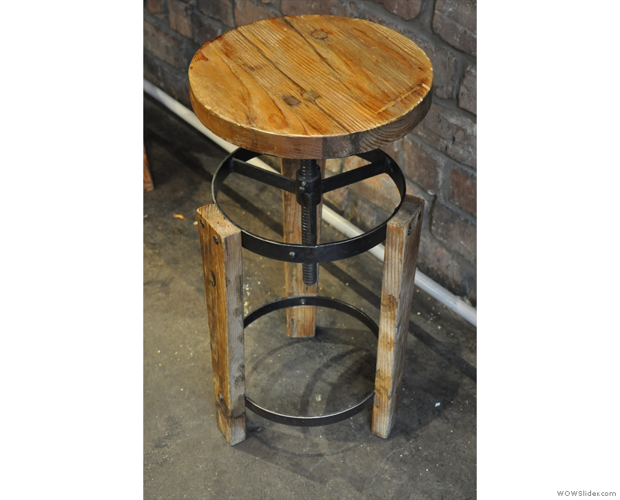 I absolutely adored these stools which were surprisingly comfortable.