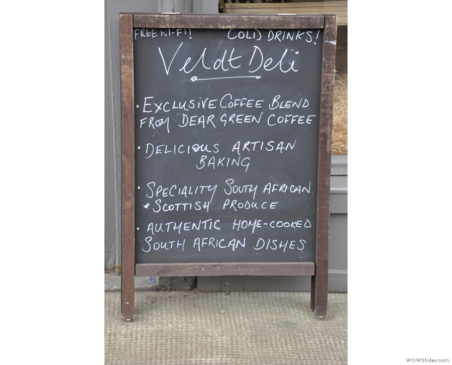 When you do get to the other side, the A-board promises much...