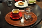 I finished things off with the Yirgacheffe as an espresso.