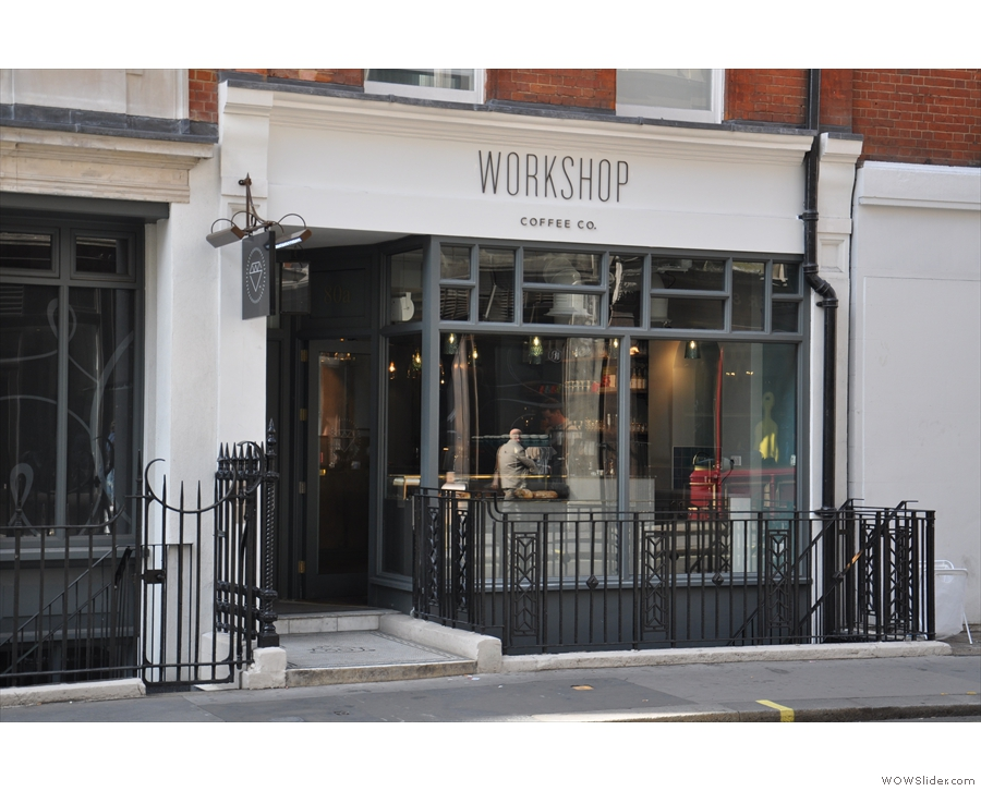 The latest outpost of the Workshop empire in Fitzrovia.