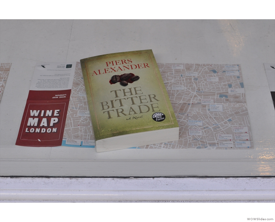 The window display at Prufrock. Looks like I've come to the right place.