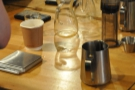I'm glad I'm not the only one who puts the top of the Aeropress on wonky.