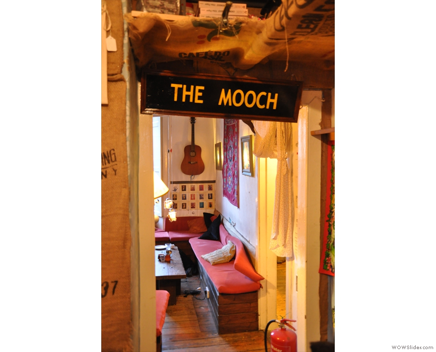 and next to that is the archway into my favourite bit, The Mooch