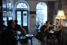 The front room at Artisan Roast. Very cosy!