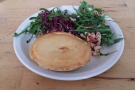 My lovely sweet potato, aubergine and lentil pie from my first visit...