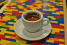 Kate's espresso: neat cup!