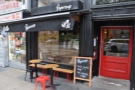 Papercup Coffee Co on Glasgow's Great Western Road.