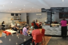 However, looking to the left: the current panoramic view from inside the door...