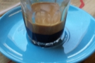 I carried out an in-depth investigation of the espresso. Look at that crema!